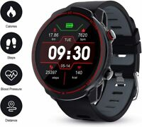 Smartwatch T30 Bluetooth Uhr Curved Display Android iOS Samsung iPhone Huawei IP