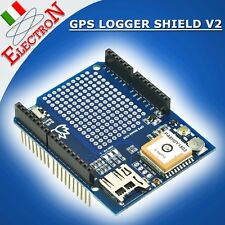 GPS LOGGER SHIELD V2 - GTOP PA6H + Micro SD slot - Ultimate Adafruit ARDUINO