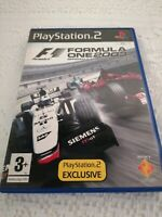 Playstation 2 ps2 GAMES FORMULA ONE 2003 Complete Manual Retro Racing FREE P&P