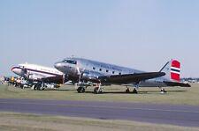 Original 35mm Aircraft slide Douglas C-53C #47