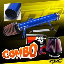 2011 2012 2013 2014 Ford Mustang 3.7L V6 Blue Cold Air Intake + K&N Air Filter