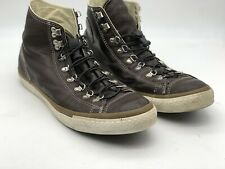 Converse All Star Men's Brown Leather High Top Athletic Basketball Shoe Size 12