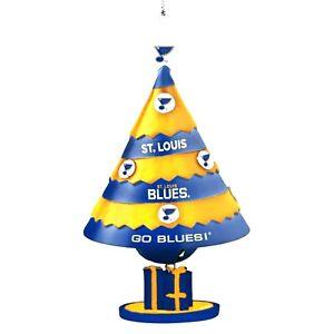 ST LOUIS BLUES TEAM BELL TREE ORNAMENT Christmas X-Mas Licensed MLB NEW