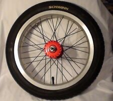 """Later model Schwinn Sting-Ray Coaster bike Wheel with Tire & Tube. 16""""X3.0"""" only"""