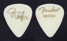 Vintage Jimmie Vaughan Signature White Fender Guitar Pick - 2001 Tour