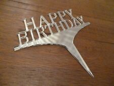 Happy Birthday cake topper acrylic Happy Birthday celebration