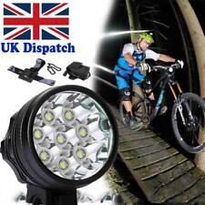 CREE XML 8x T6 32000Lumen Mountain Bike Bicycle Cycling Head Light Headlamp UK W