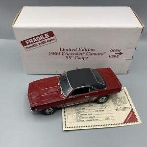 1/24 Danbury Mint 1969 Chevrolet Camaro SS Coupe CH