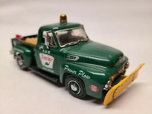 Matchbox Collectibles 1954 Ford F100 Sinclair Snowplow Gasoline Gas 1:43 Read