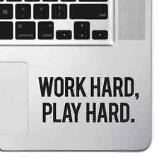 Juego de duro trabajo duro motivacionales Macbook Pro Air Laptop Pegatina Adhesivo De Teclado