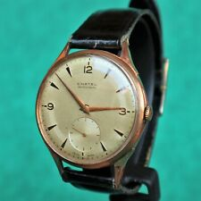 CHATEL Large Vintage 1950s Gold Plated Watch ETA 853 Reloj Montre Orologio