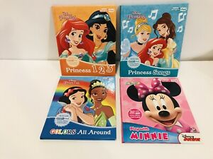 DISNEY My First Smart Pad Books Disney Princess Set Of 4 Books Only EUC