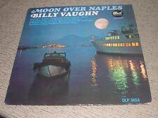 "BILLY VAUGHN (VG+) 1965 Moon Over Naples (NM) 12"" 33RPM Dot Melodies LP DLP25654"