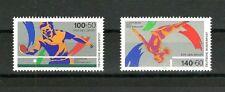Bund Nr. 1408-1409 Sportmarken 1989 Tischtennis Turnen postfrisch
