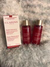 Clarins Super Restorative Treatment Lotion Essence 0.3 Oz Each (1 In Box 2 Nwob)