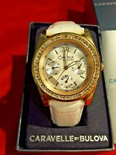 BULOVA-CARAVELLE  44N100 Watch Classical Water Resistant Elegant Leather Band