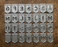 Metal Cutting Dies - ALPHABET BUNTING Uppercase Letters (S67)