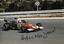 Arturo Merzario firmato 12x8, FERRARI 312B2, GP sudafricano di KYALAMI 1973