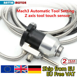 『EU』CNC Mach3 automatic tool sensor z axis probe tool touch sensor setting gauge
