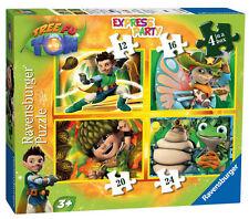 Tree Fu Tom 4 in una scatola RAVENSBURGER Puzzle 12/16/20 / 24 pezzi