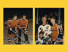 2 WAYNE GRETZKY 1986 NHL ALL STAR GAME GORDIE HOWE PHIL ESPOSITO 8x10 PHOTOS #2