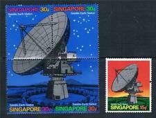 Singapore 1971 Satelitlite Earth Station SG 160/4 MNH