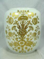 Rich decorated 70´s design Heinrich  Porzellan #  porcelain vase  2177   18,5 cm