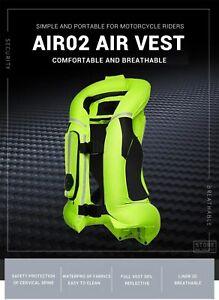 Motorcycle Safety Air Bag Jacket Motorbike Reflective Protective Vest Motocross