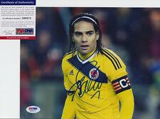 RADAMEL FALCAO MANCHESTER UNITED COLOMBIA SIGNED AUTO 8X10 PHOTO PSA/DNA COA #2