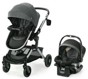 Graco Modes Nest Travel System Stroller with SnugRide 35 Elite Car Seat Sullivan