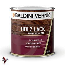 Finitura per legno trasparente a cera a solvente Baldini Vernici Holz Lack 750ml