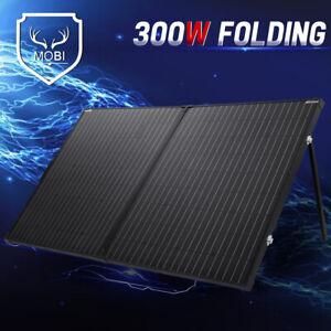 300W 12V Folding Solar Panel Super Light Mono Regulator Kit  5m Cable MOBI