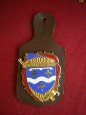 insigne de pompiers,pucelle,Sapeurs pompiers du Loiret U.D.S.P. (27N)