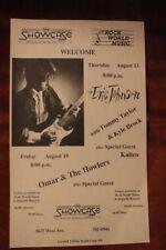 ERIC JOHNSON Omar & The Howlers San Antonio TEXAS (1988) Concert Flyer/Poster