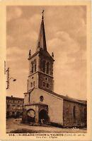 CPA   St-Hilaire-Cusson-la-Valmite(Loire) alt 900 m - L'Église (580260)