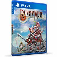 RAINBOW MOON  PS4 ASIA FULL ENGLISH NEW SEALED PAL & NTSC COMPATIBLE REGION FREE