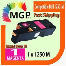 1x Generic Magenta toner cartridge for Dell Printer 1250 1250C 1350CNW 1355CN
