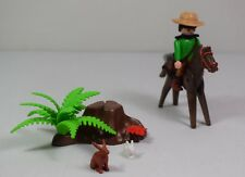 Playmobil Garde forestier canadien a cheval