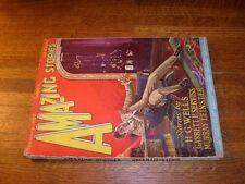 AMAZING STORIES JANUARY 1927 PULP (#10), wells, etc