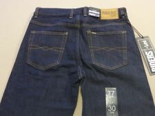 098 MENS NWT LEE RIDERS STR8 SLIM AUTHENTIC BLUE STRETCH JEANS SZE 30 $90 RRP.