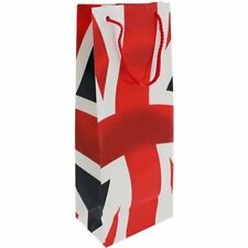 Union Jack Bottle Gift Bag Party Royal Wedding UK GB British Flag Birthday Wine