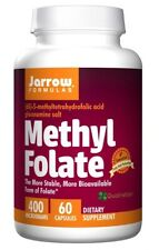 Methyl Folate, 400mcg x 60Caps, Heart, Energy, Headaches, Mood, Jarrow Formulas