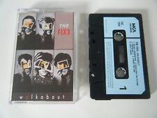 THE FIXX WALKABOUT CASSETTE TAPE 1986 BLUE PAPER LABEL MCA UK