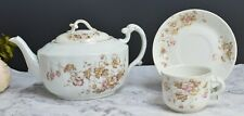 Alfred Meakin Royal Semi-Porcelain Tea Pot with Cup and Saucer
