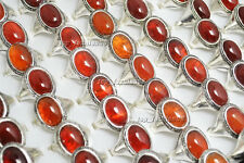 Wholesale Mixed Jewelry Lots 5pcs Men's Tibet Anti-Silver Agate Stone Rings Free