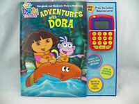 Nick Jr.~Adventures with Dora~Storybook & Electronic Picture Dictionary NEW