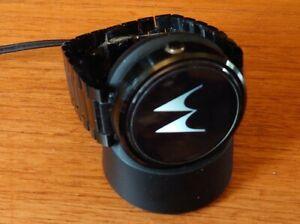 Motorola 360 Smartwatch (1st Generation) Black Metal Case & Bracelet