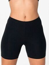 Mid 7-13 in. Inseam Cotton High Sporty Shorts for Women