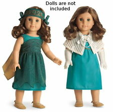 """NEW American Girl Rebecca's Costume 8-Pc Dress Up Set for 18"""" Dolls Shawl Pearl+"""