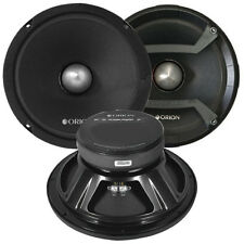 "Orion CM85 Cobalt 8"" Midrange Speaker With Grills Sold Pairs 1200W Max"